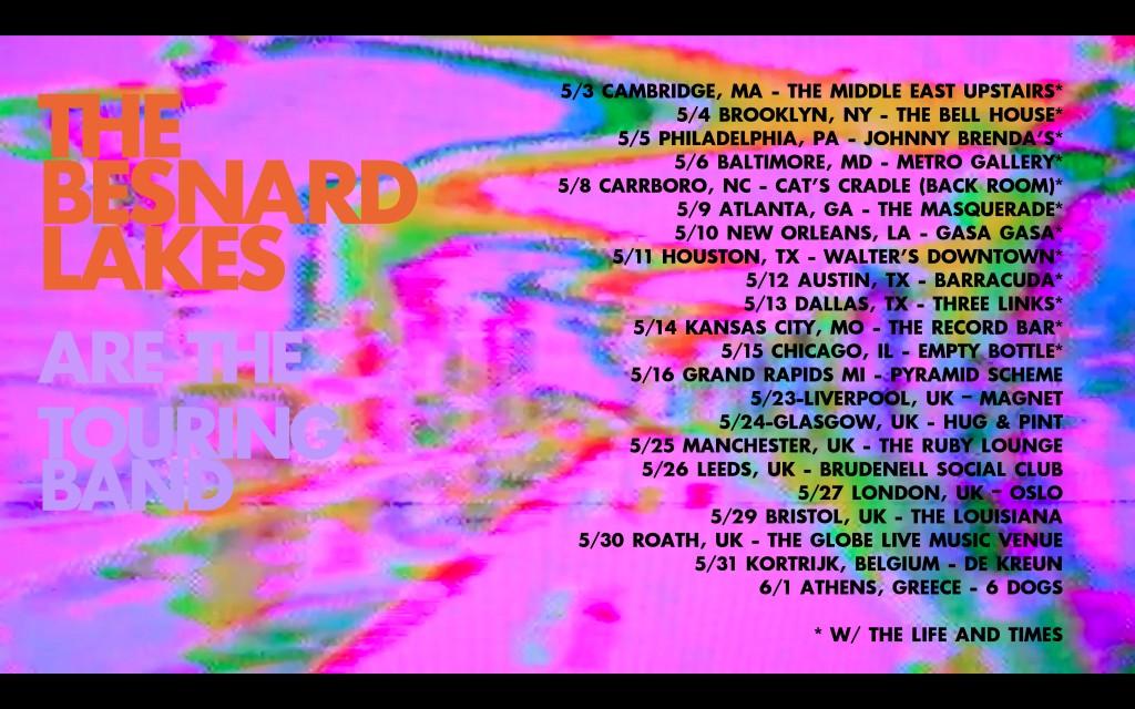 Besnard Spring 2017 Tour Poster3